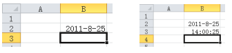 Excel中数据的类型和输入数据的各种方法