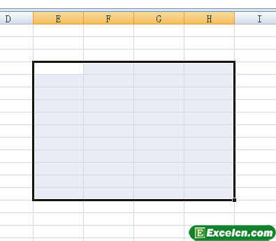 Excel单元格定位方法