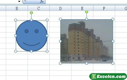 在Excel2007中同时选择多个图形 cad2007图形文件无效