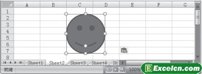 移动Excel中的图片
