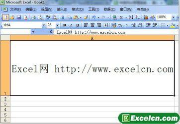 设置Excel表格中的文字大小