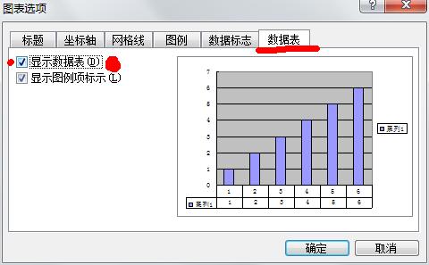 Excel2003数据表