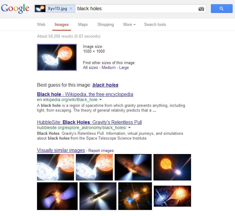 图片搜索结果