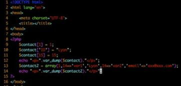 php数组 php数组的使用案例