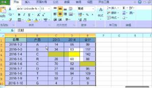 excel数据透视表 如何使用excel2013做数据透视表
