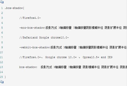 css阴影 如何用CSS实现DIV块的阴影效果