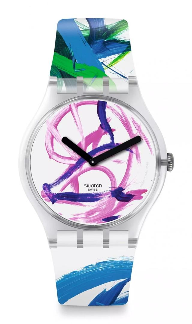 Swatch新出的限量款手表,設計師是一頭豬!